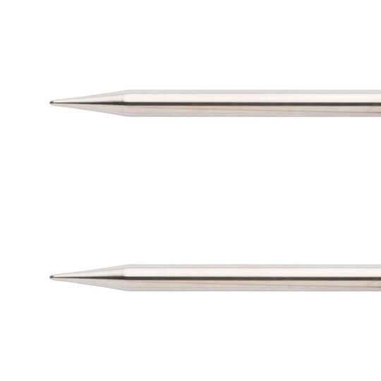 ChiaoGoo Knit Red 8,00 mm 100 cm Paslanmaz Çelik Misinalı Şiş - 6040-11
