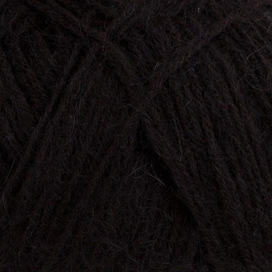 Kartopu Angora Natural Siyah El Örgü İpi - K940