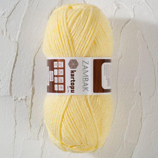 Kartopu Zambak Açık Sarı El Örgü İpi - K331