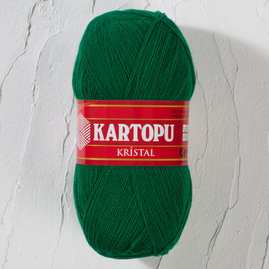 Kartopu Kristal Yeşil El Örgü İpi - K40376