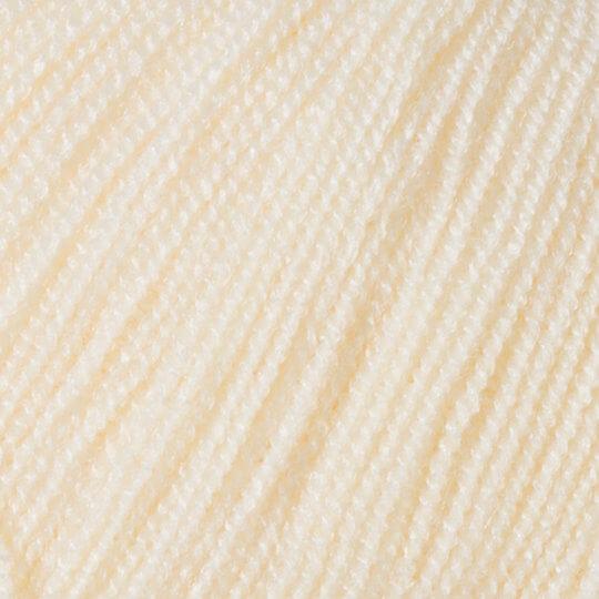 Kartopu Kristal Krem El Örgü İpi - K018