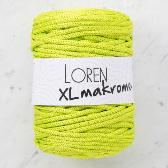 Loren XL Makrome Fıstık Yeşil El Örgü İpi - R042