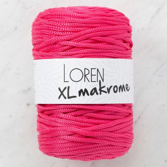 Loren XL Makrome Fuşya El Örgü İpi - R013