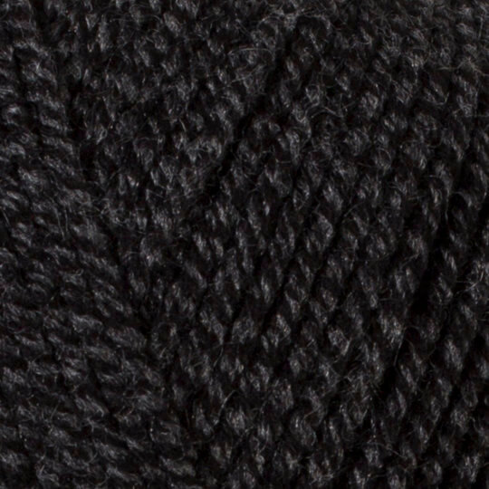 Kartopu Ak-Soft Kırçıllı Siyah El Örgü İpi - MU00908