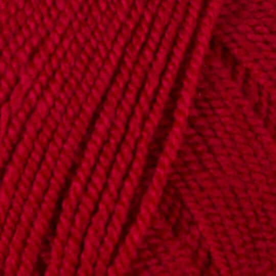 Kartopu 5'li Paket Süper Perle Kırmızı El Örgü İpi - K132