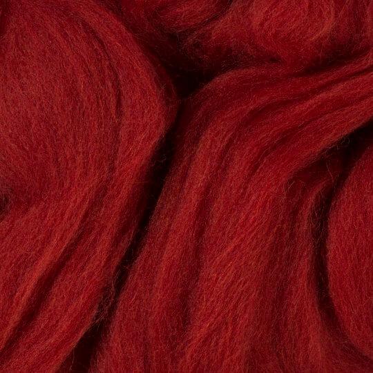Gazzal Felt Wool Bordo Yün Keçe - 6126