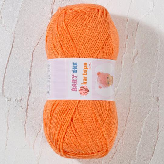 Kartopu Baby One Turuncu Bebek Yünü - K256