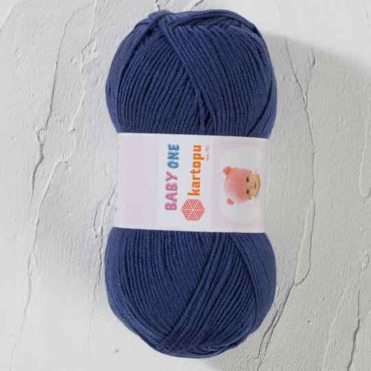 Kartopu Baby One Lacivert Bebek Yünü - K604