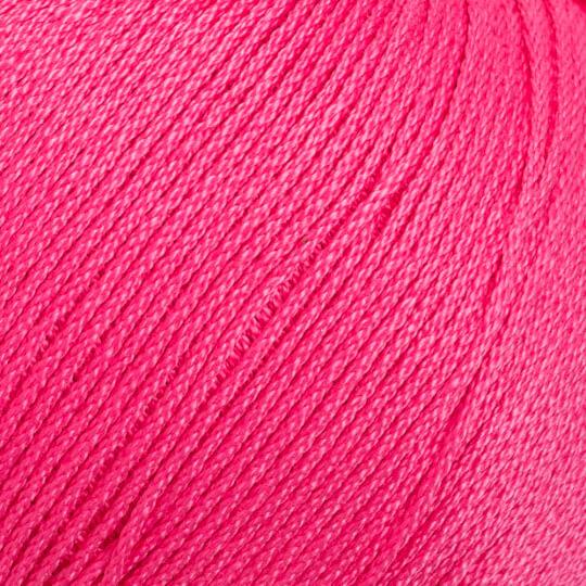 La Mia Lux Mercerized Cotton Fuşya El Örgü İpi - 35
