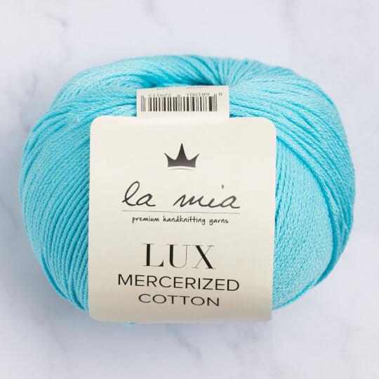 La Mia Lux Mercerized Cotton Cam Göbeği El Örgü İpi - 123