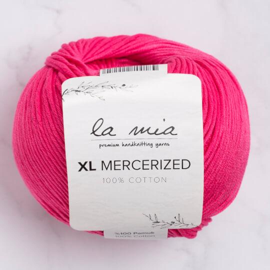 La Mia XL Mercerized Fuşya El Örgü İpi - 35