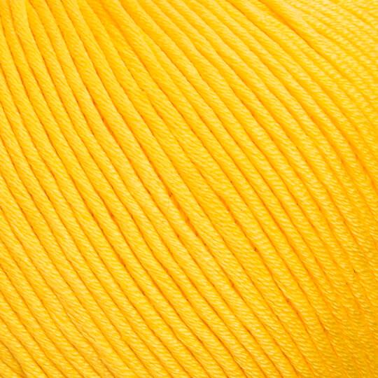 La Mia XL Mercerized Koyu Sarı El Örgü İpi - 181