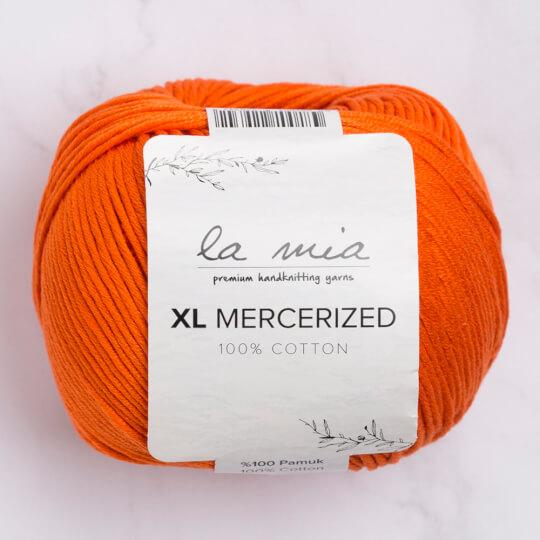 La Mia XL Mercerized Turuncu El Örgü İpi - 194