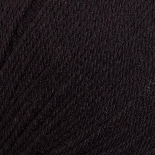 La Mia Merino Siyah El Örgü İpi - L006