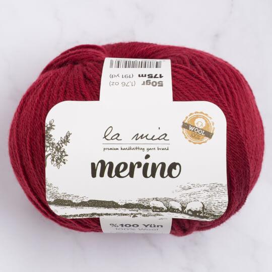 La Mia Merino Bordo El Örgü İpi - L065