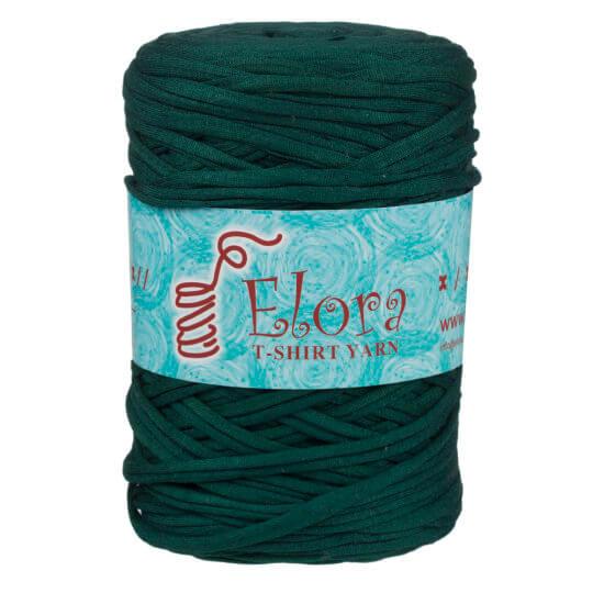 Elora Recycle Shirt Fabric Yarn Petrol Green D11h16