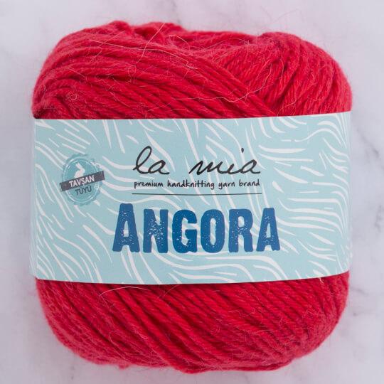 La Mia Angora 50gr Kırmızı El Örgü İpi - L004