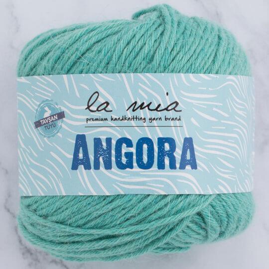 La Mia Angora 50gr Mint Yeşili El Örgü İpi - L130