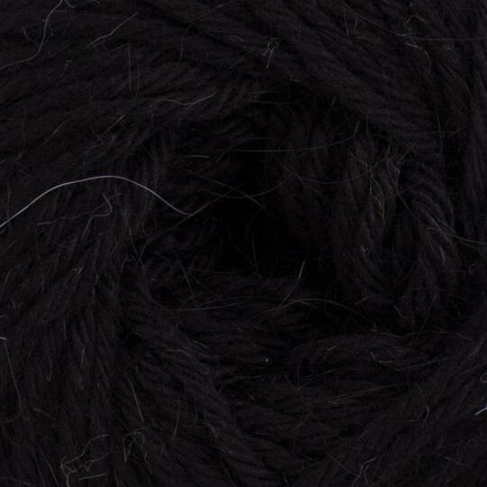 La Mia Angora 50gr Siyah El Örgü İpi - L006