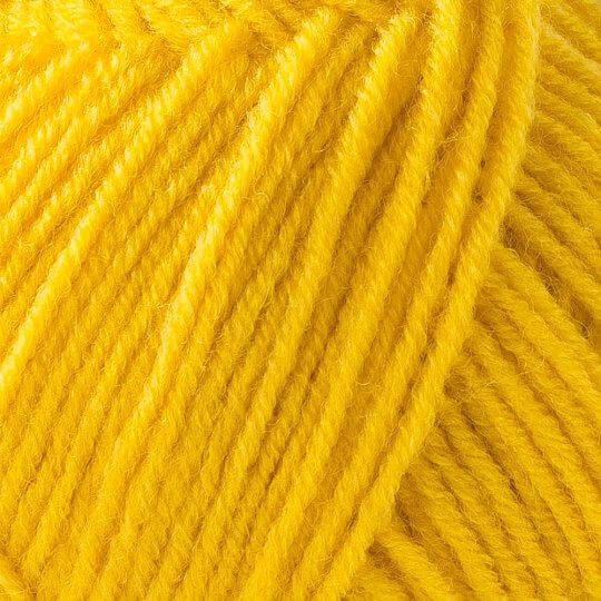 Kartopu Cozy Wool Sport Sarı El Örgü İpi - K1321