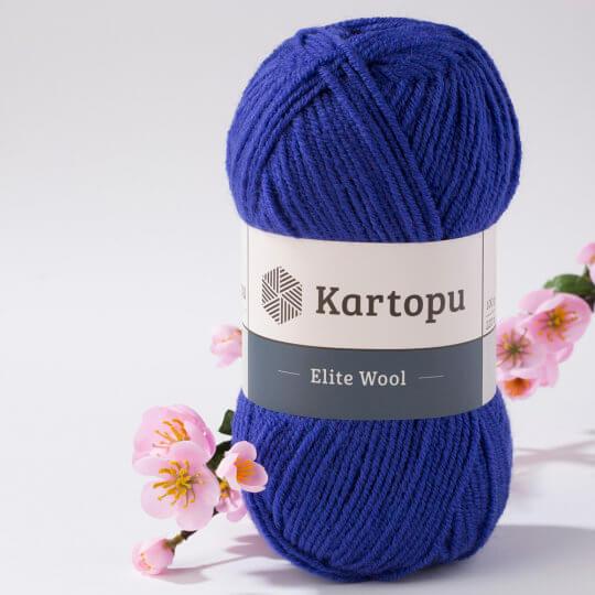 Kartopu Elite Wool Menekşe Mavisi El Örgü İpi - K1624