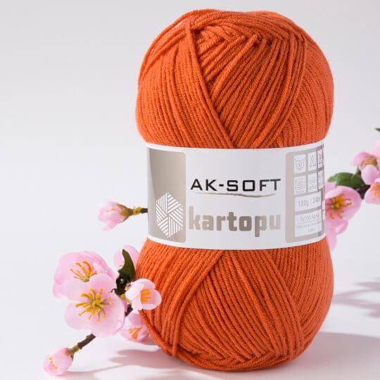 Kartopu Ak-Soft Kiremit El Örgü İpi - K1210