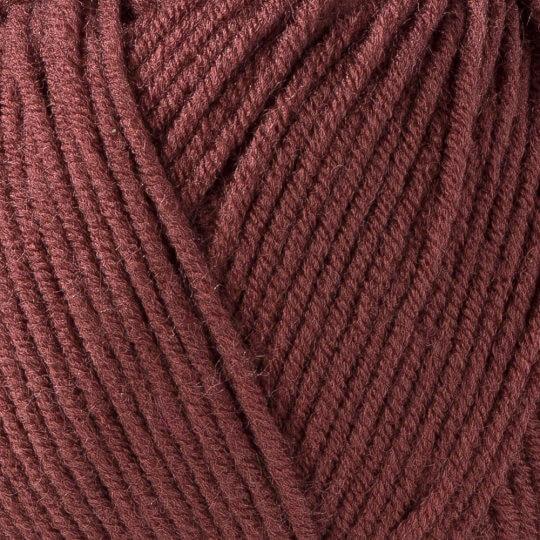 Kartopu Ak-Soft Kahverengi El Örgü İpi - K1892