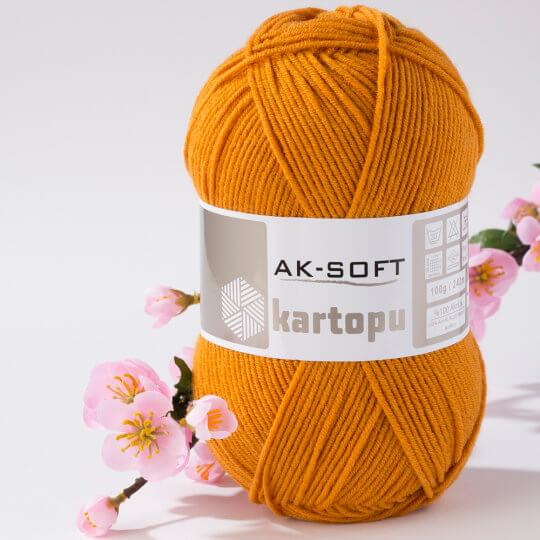 Kartopu Ak-Soft Tarçın El Örgü İpi - K1854