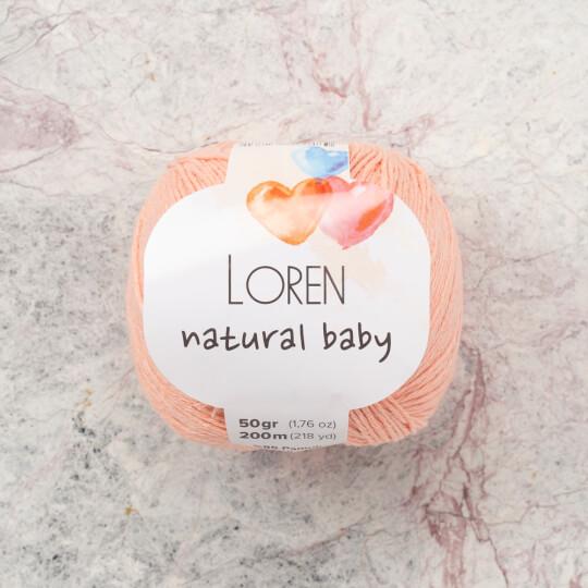 Loren Natural Baby Yavruağzı El Örgü İpi - R097