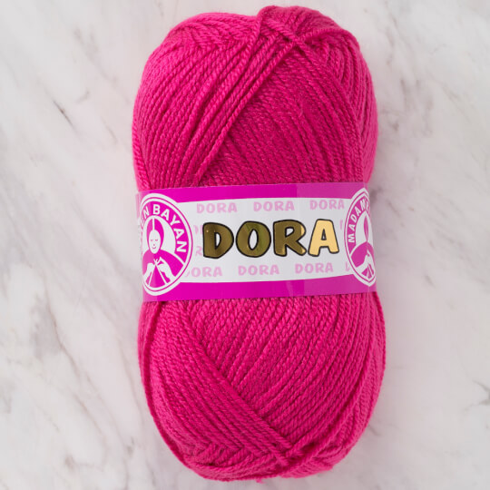Örenbayan Dora Fuşya El Örgü İpi - 044