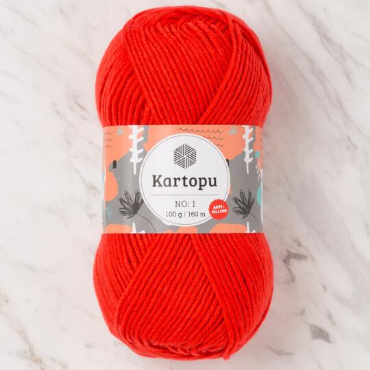 Kartopu No:1 Kırmızı El Örgü İpi - K1170