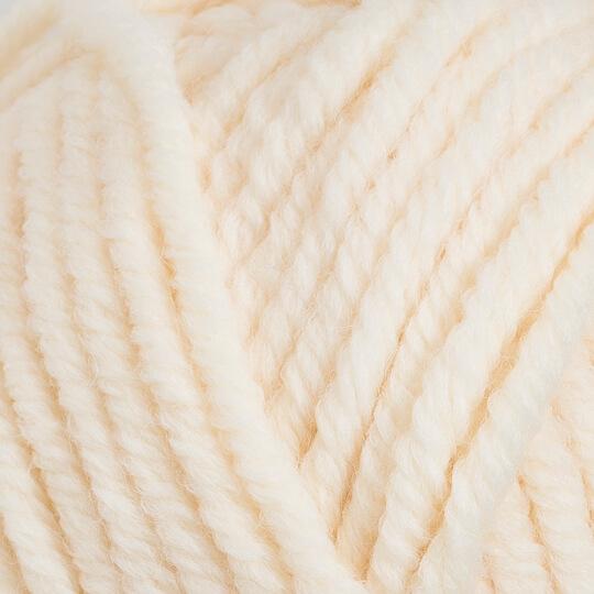 Kartopu Elite Wool Grande Krem El Örgü İpi - K025