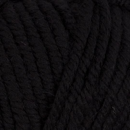 Kartopu Elite Wool Grande Siyah El Örgü İpi - K940