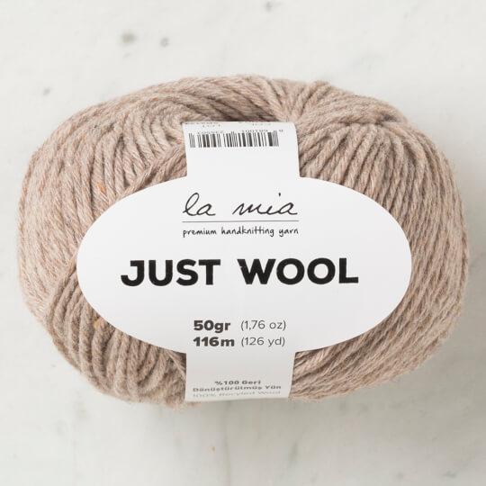 La Mia Just Wool Bej El Örgü İpi - LT004