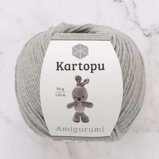 Kartopu Amigurumi Gri El Örgü İpi - K920