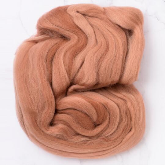 Gazzal Felt Wool Sütlü Kahve Yün Keçe - 6123