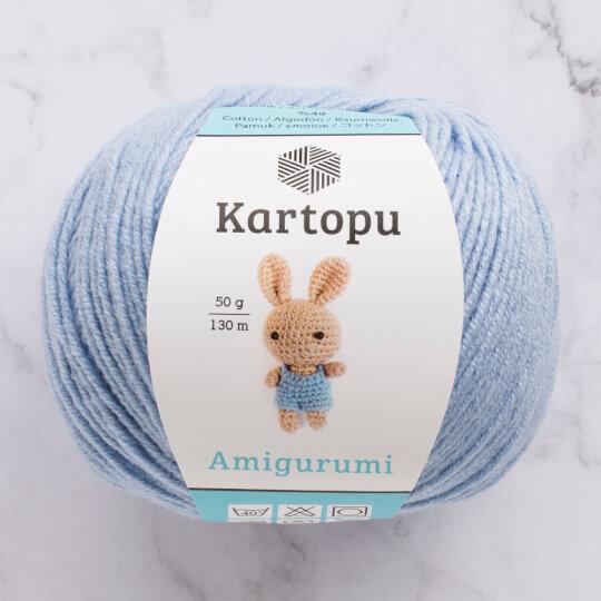 Kartopu Amigurumi Bebe Mavi El Örgü İpi - K544