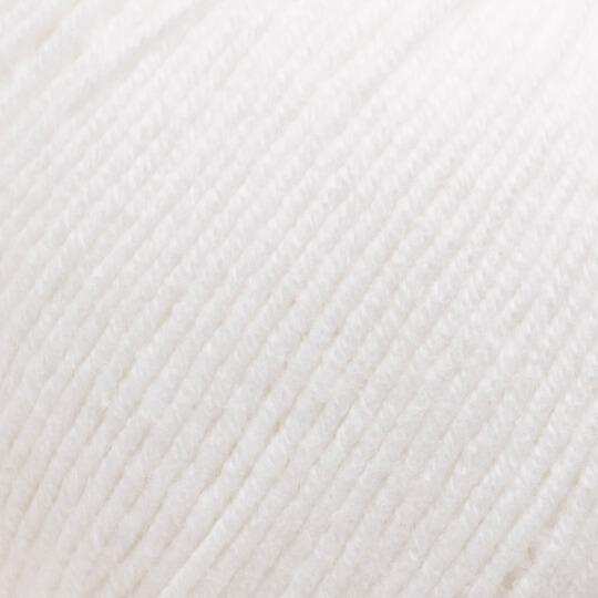 Kartopu Amigurumi Beyaz El Örgü İpi - K010