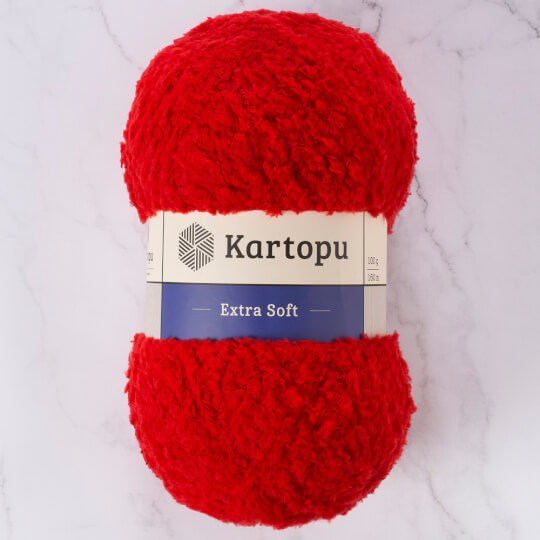 Kartopu Extra Soft Kırmızı Bebek Yünü - K150