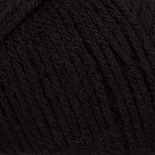 La Mia Wool Easy Siyah El Örgü İpi - L006