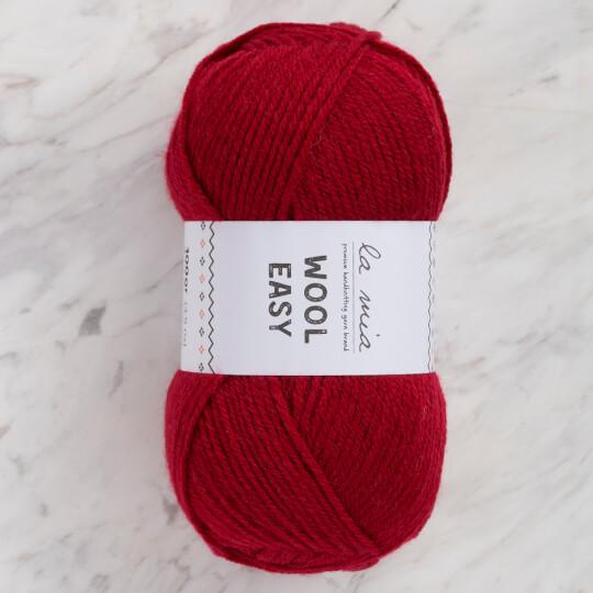 La Mia Wool Easy Kırmızı El Örgü İpi - L201