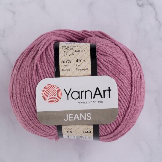 YarnArt Jeans Gül Kurusu El Örgü İpi - 65