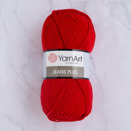 YarnArt Jeans Plus Kırmızı El Örgü İpi - 64