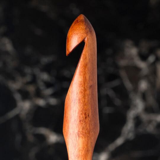 La Mia Rosewood 10 mm 15.5 cm Ahşap Yün Tığ