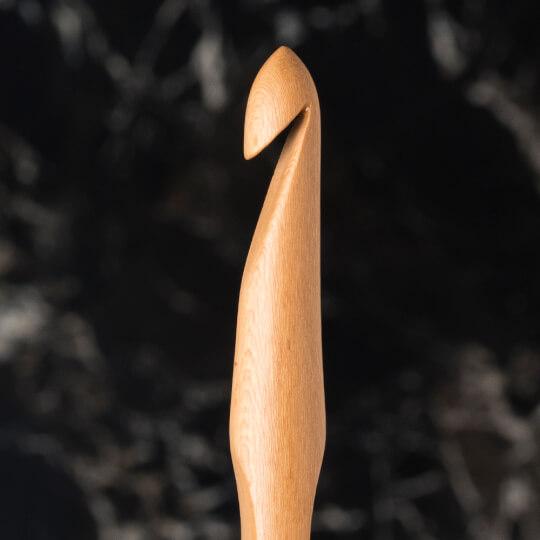 La Mia Whitewood 9 mm 15.5 cm Ahşap Yün Tığ
