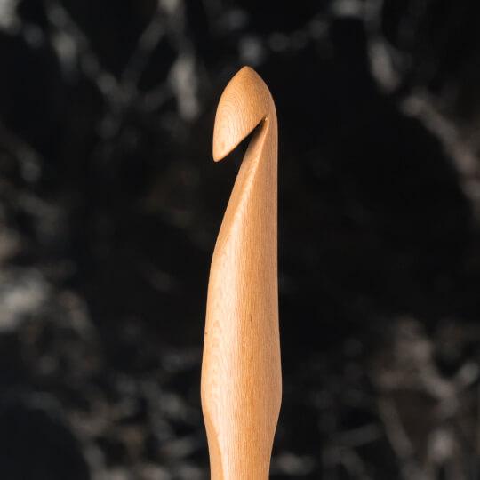La Mia Whitewood 8 mm 15.5 cm Ahşap Yün Tığ