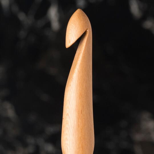 La Mia Whitewood 7 mm 15.5 cm Ahşap Yün Tığ