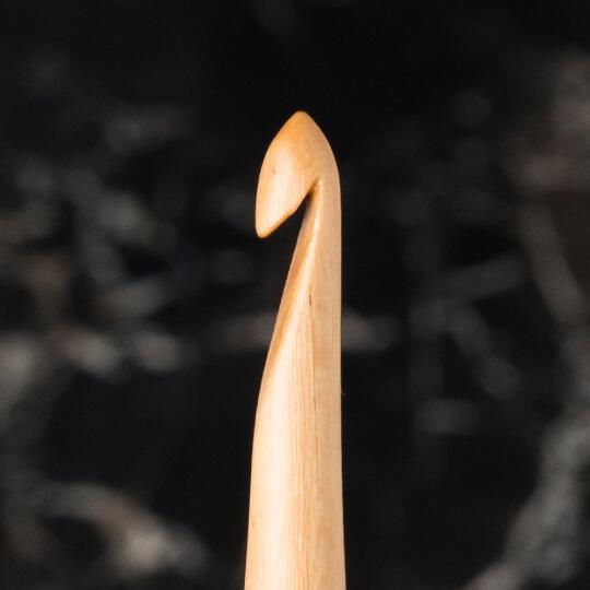 La Mia Whitewood 6 mm 15.5 cm Ahşap Yün Tığ
