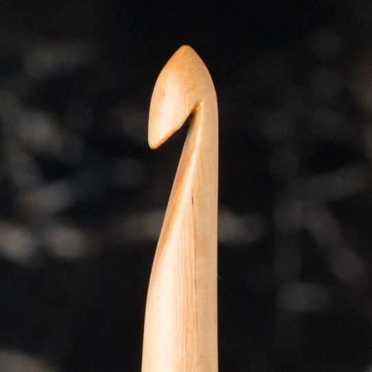 La Mia Whitewood 5.5 mm 15.5 cm Ahşap Yün Tığ