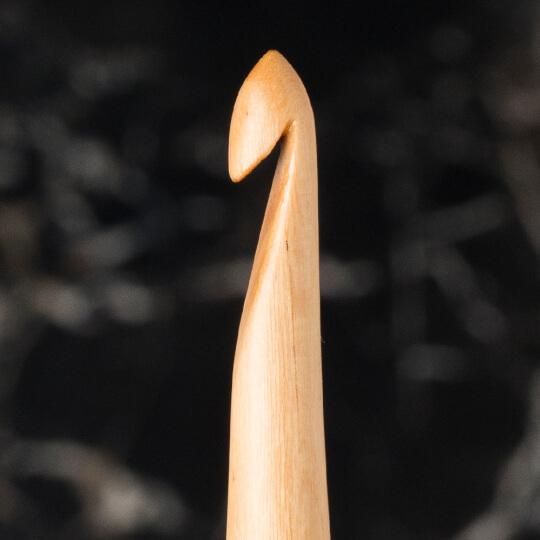 La Mia Whitewood 4.5 mm 15.5 cm Ahşap Yün Tığ